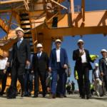 Морской терминал в Усть-Луге обеспечили железнодорожным сообщением