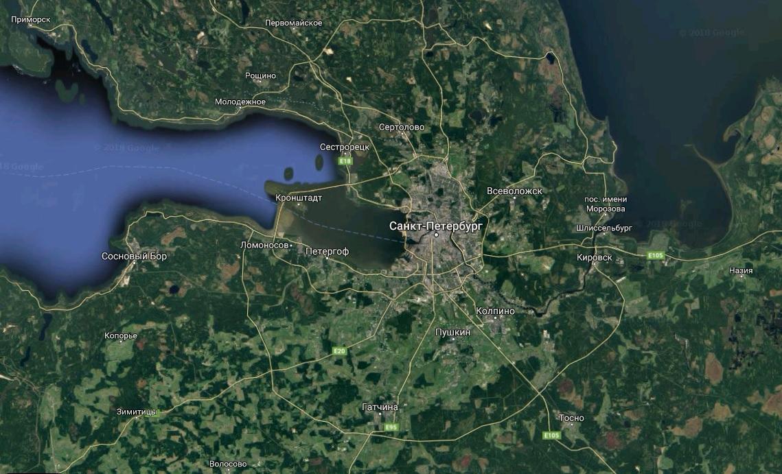 Ленобласть склоняет Петербург к интимной близости
