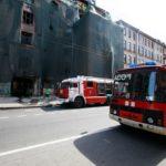 Дом Басевича умирает в огне